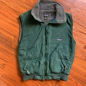 Patagonia vintage lined full zip vest XS